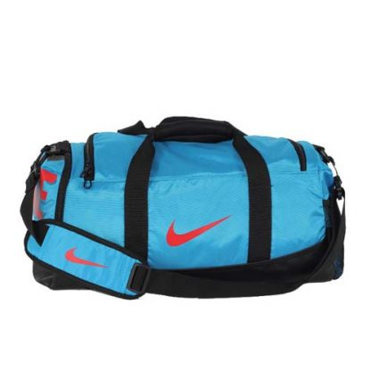nike team training s duffel bag blue 1