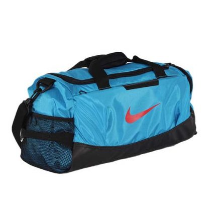 nike team training s duffel bag blue 4
