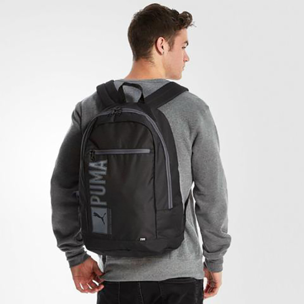 puma pioneer backpack black 6 large