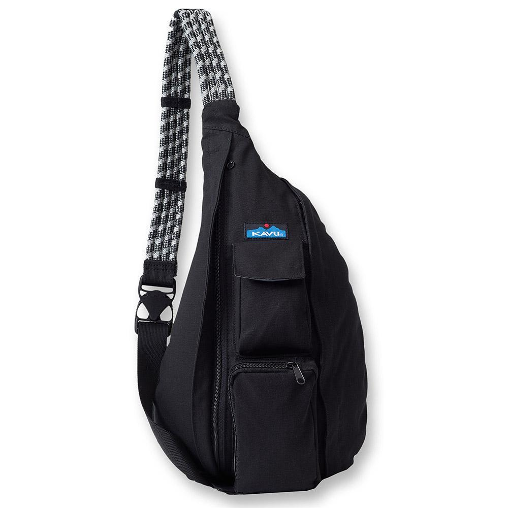 kavu rope bag black backpack