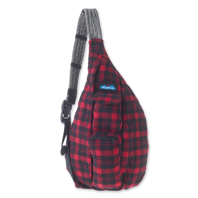 Balo Kavu Plaid Rope Bag