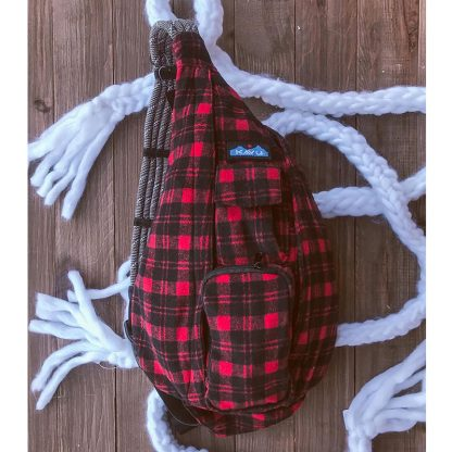 Kavu Plaid Rope Bag61