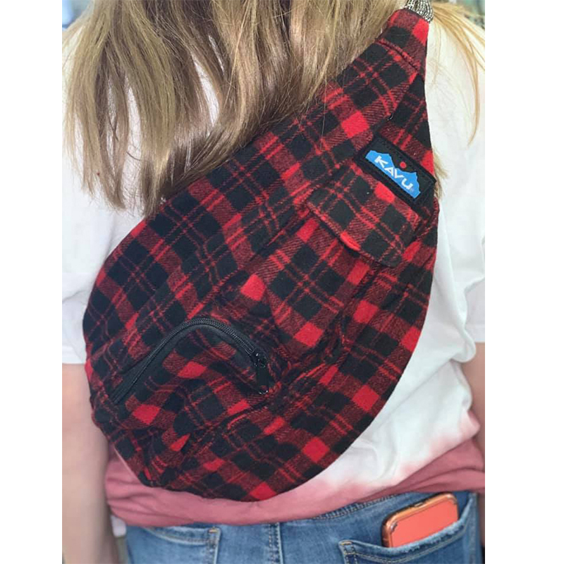 Kavu Plaid Rope Bag67
