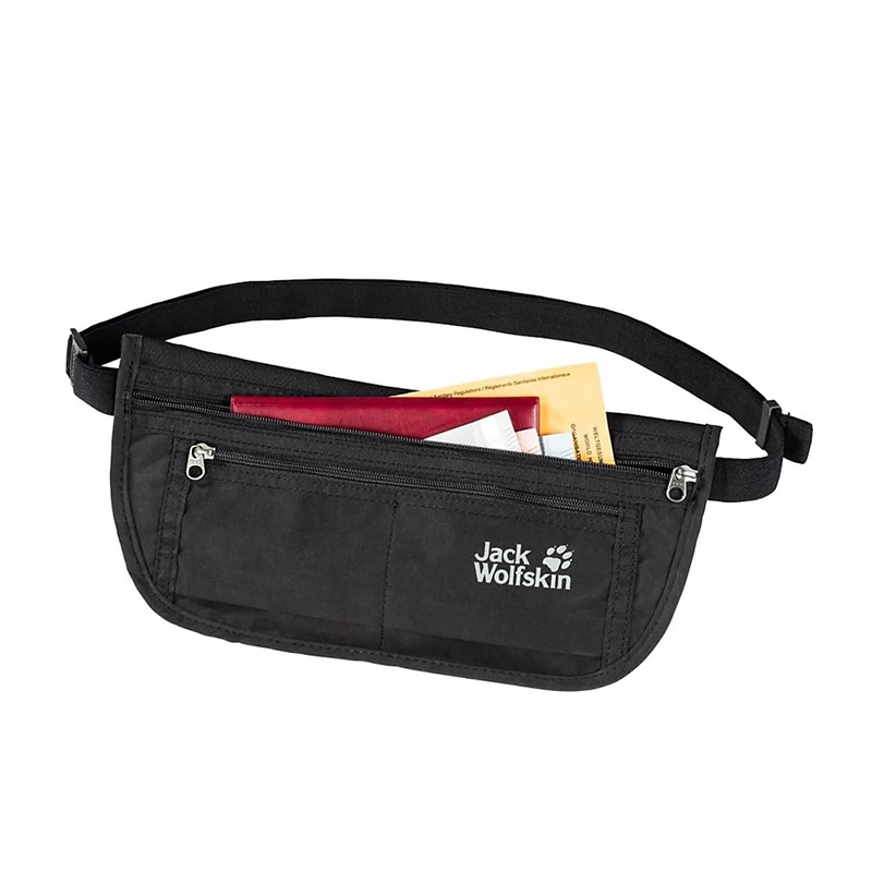 jack wolfskin document belt de luxe black 2