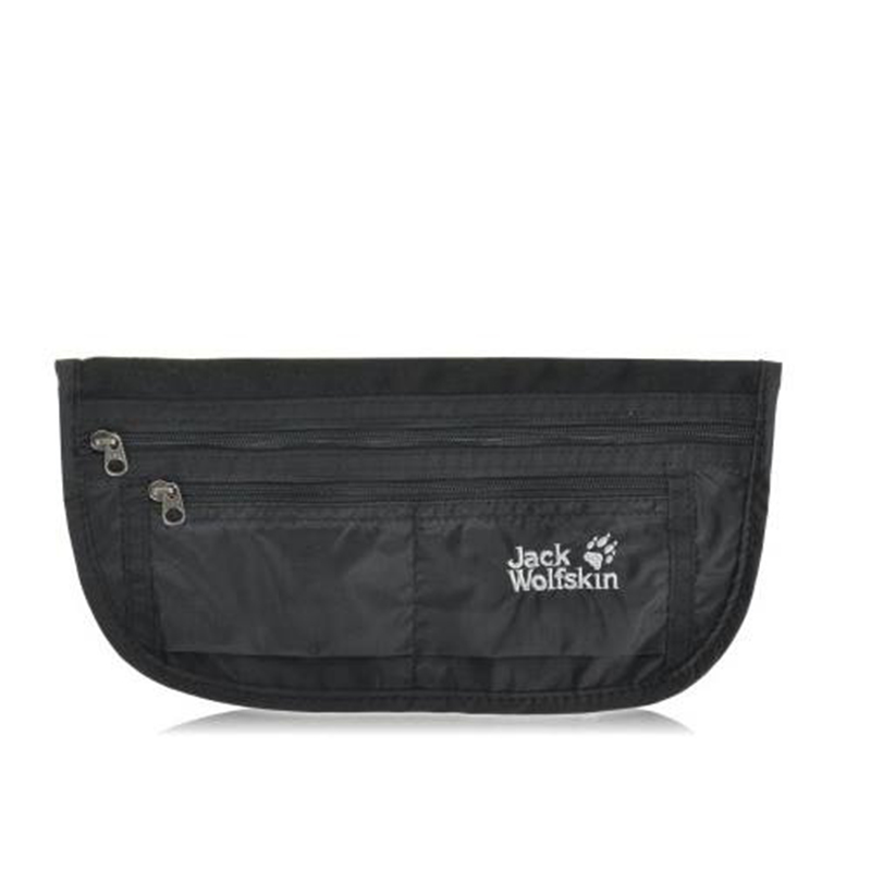 jack wolfskin document belt de luxe black 21