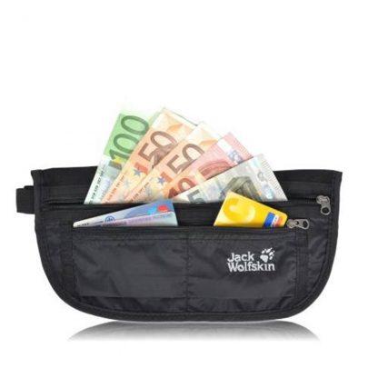 jack wolfskin document belt de luxe black 24